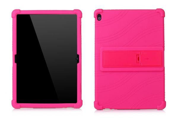Lenovo Tab P10 (10.1 inch) Kinderhoes backcover schokbestendig Roze