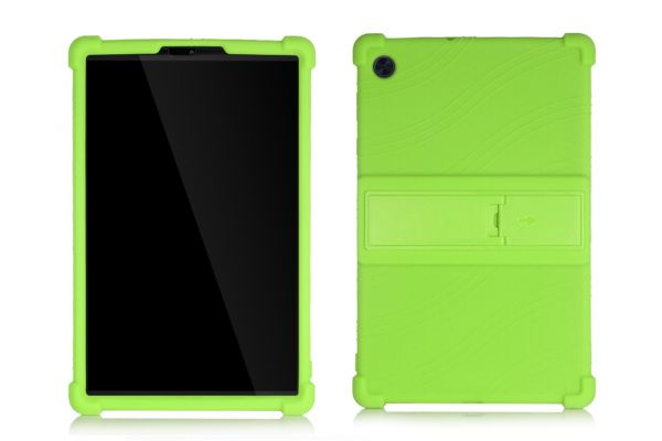 Lenovo Tab M10 Plus  (10.3 inch) Kinderhoes backcover schokbestendig Groen