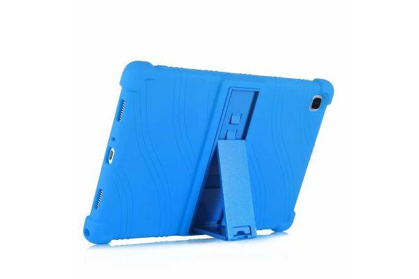 Samsung Galaxy Tab A7 10.4 inch kinderhoes backcover schokbestendig Blauw