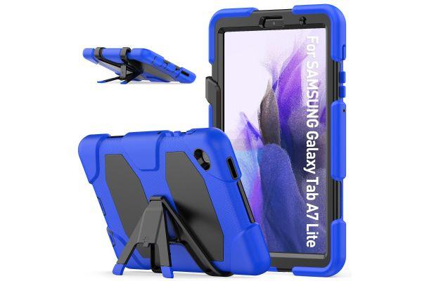 Samsung Tab A7 Lite 8.7 inch model 2021 Bumper Case Blauw