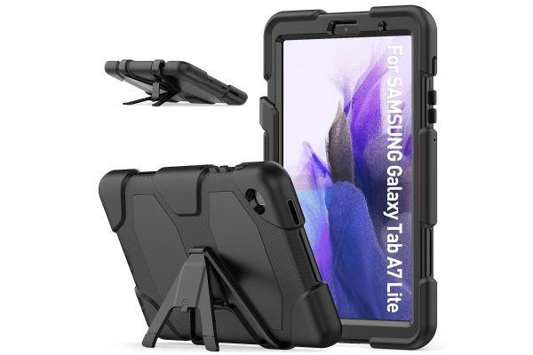 Samsung Tab A7 Lite 8.7 inch model 2021 Bumper Case Zwart