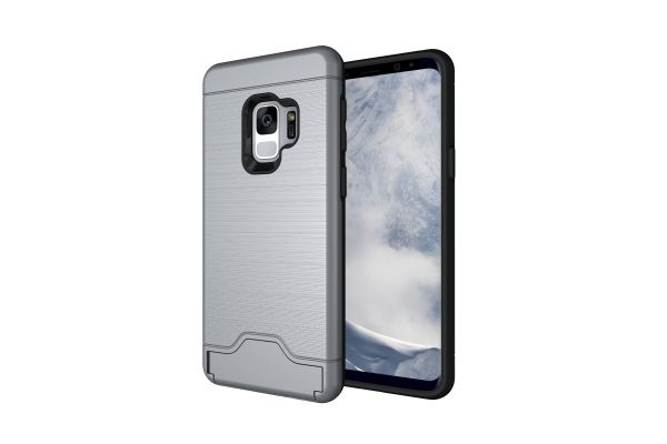 Samsung Galaxy S9 Back Cover Case Zilver