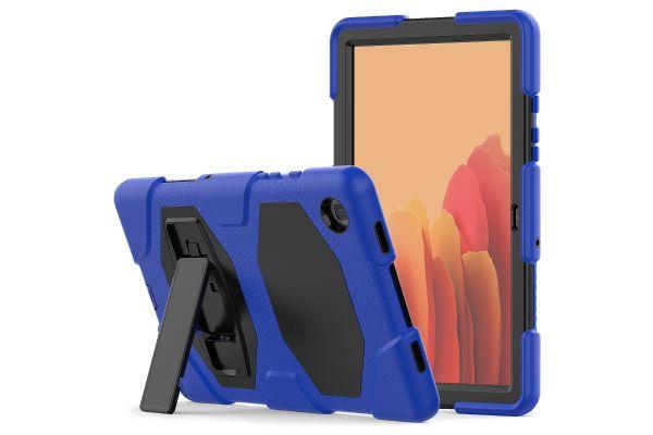 Samsung Tab A7 model 2020 10.4 inch Bumper Case met ingebouwde kickstand Blauw