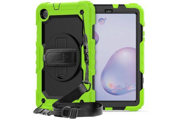 Samsung Tab A 10.1 2019 draaibare Bumper Case groen