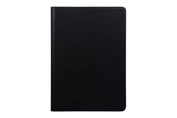 iPad 2-3-4 echt lederen bookcover zwart
