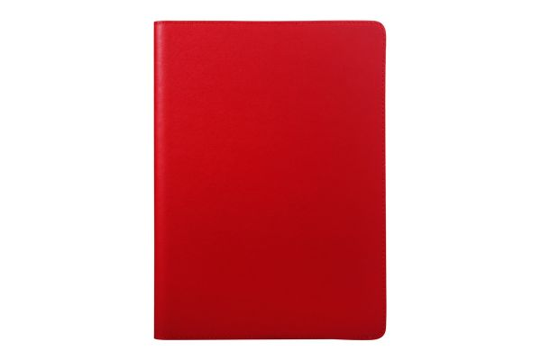iPad Air 2 echt lederen bookcover rood