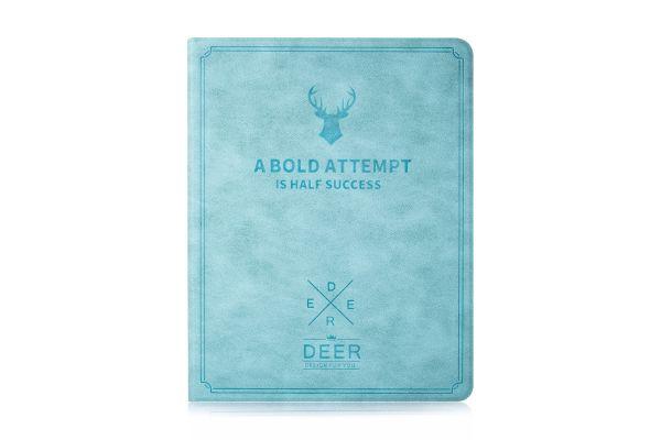 iPad 2-3-4 design hoes blauw DEER
