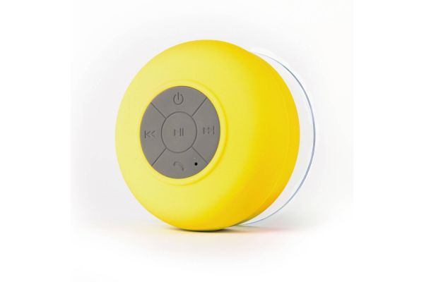 Bluetooth wireless speaker waterdicht geel