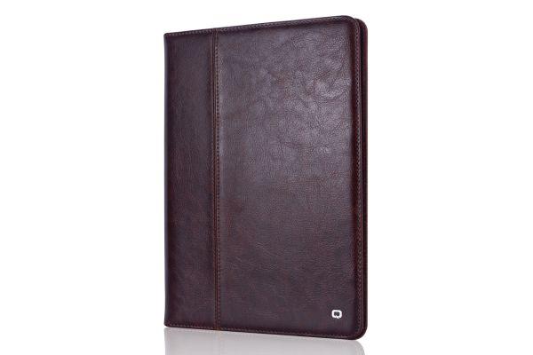 iPad 2018 9.7 inch echt lederen bookCover Bruin