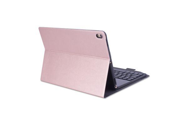 iPad Pro 10.5 hoes met toetsenbord ultra slim Deluxe Rose Goud