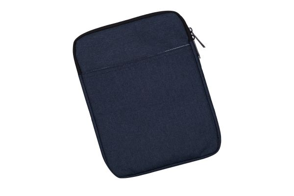 Business Casual Sleeve tot 10.1 inch iPad - tablet hoes donkerblauw