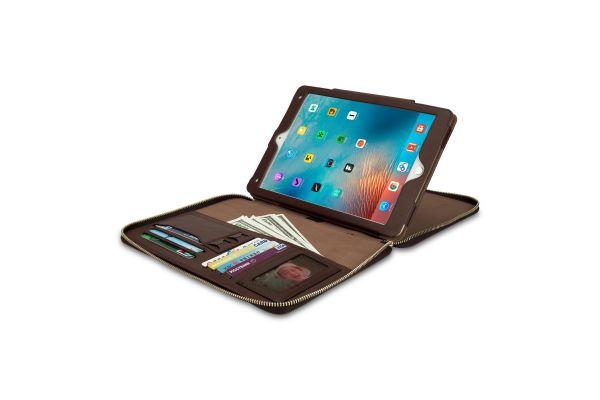 iPad Air 2 hoes (zakelijke handtas) bruin