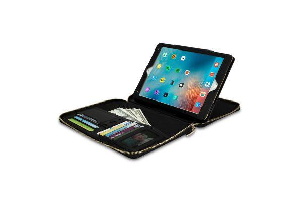 iPad 2017 9.7 inch hoes (zakelijke handtas) zwart