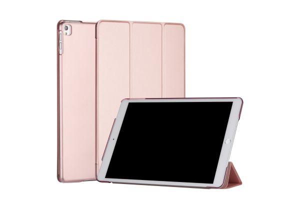 iPad Air 10.5 model 2019 inch Hard Tri-Fold Book Cover Rose Goud