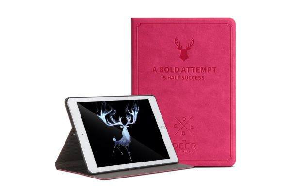 iPad 9.7 (2018) design hoes fuchsia DEER