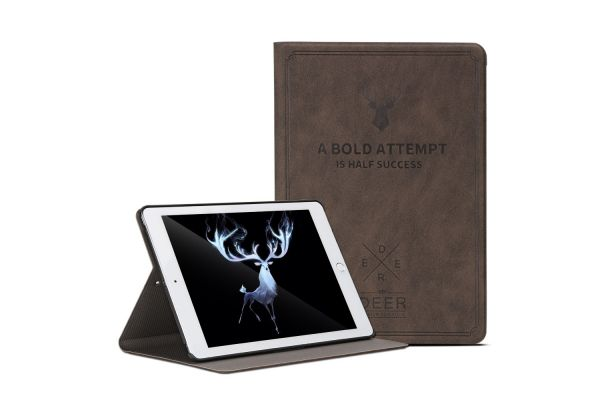 iPad 9.7 (2017) design hoes bruin DEER