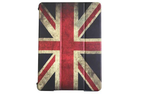 iPad 9.7 (2017) Flipstand Hard backcover print Engelse vlag