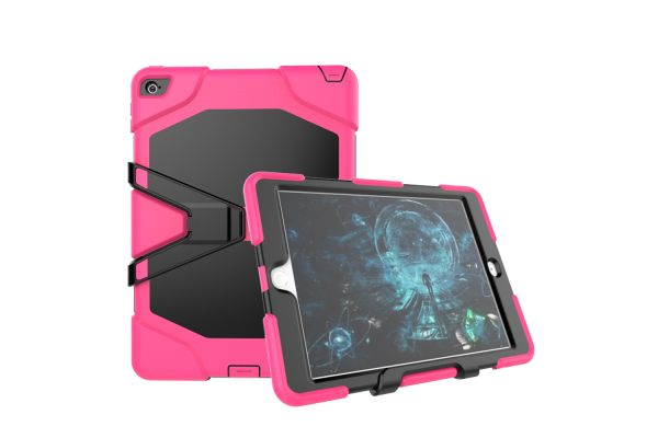 iPad Air 2 heavy duty survivor case roze
