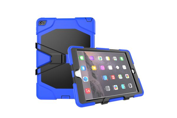 iPad Air 2 heavy duty survivor case blauw