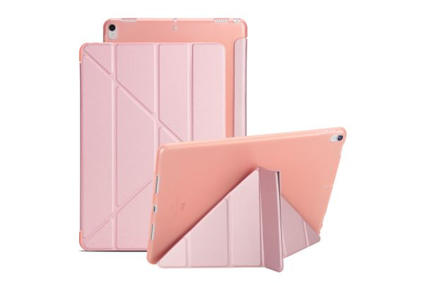 iPad Air 10.5 model 2019 Book Cover Origami Rose Goud