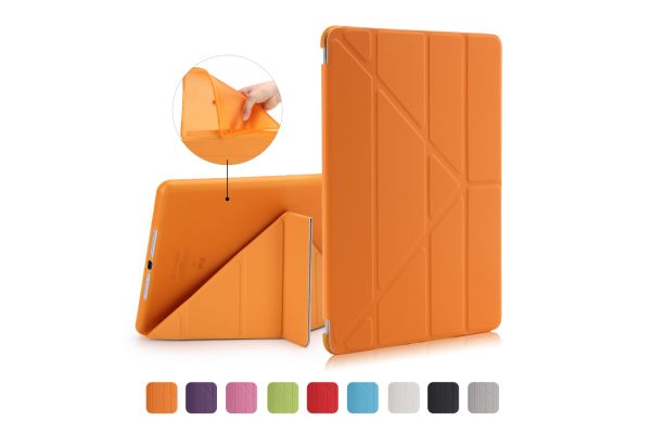 iPad Air Book Cover Origami Oranje