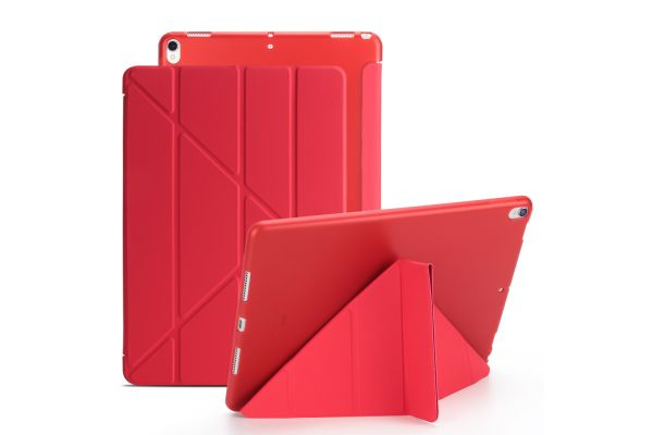 iPad Air 10.5 model 2019 Book Cover Origami Rood