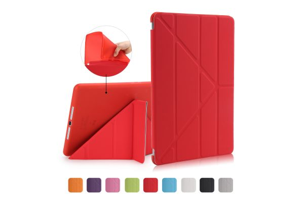 iPad Air Book Cover Origami Rood
