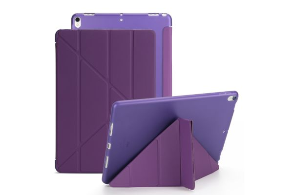 Book Cover Origami iPad Pro 10.5 paars