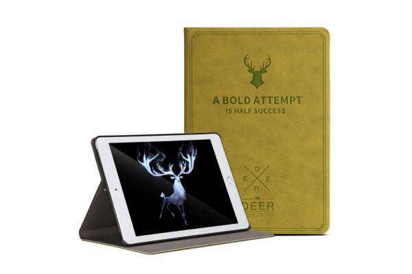 iPad Air 2 design hoes groen DEER