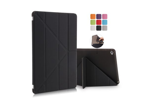 iPad Air 2 Book Cover Origami Zwart