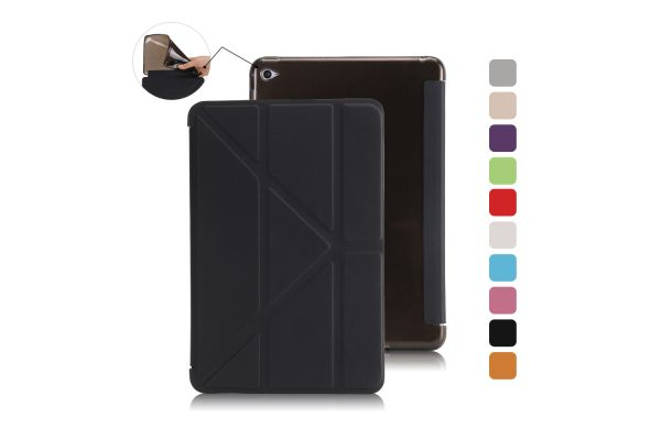 Book Cover Origami iPad Mini 4 zwart