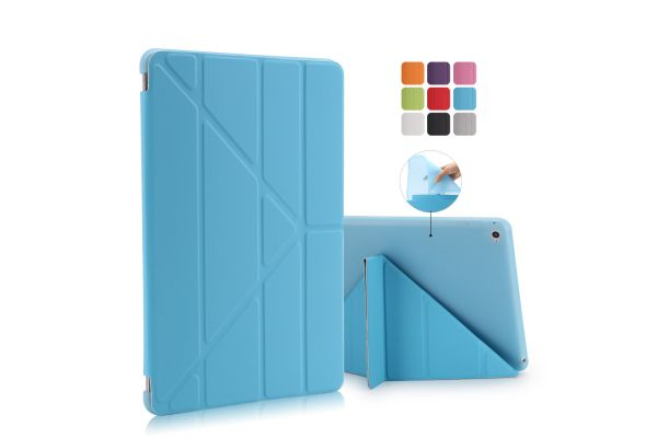 iPad Air 2 Book Cover Origami Blauw