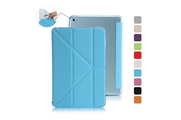 Book Cover Origami iPad Mini 4 blauw