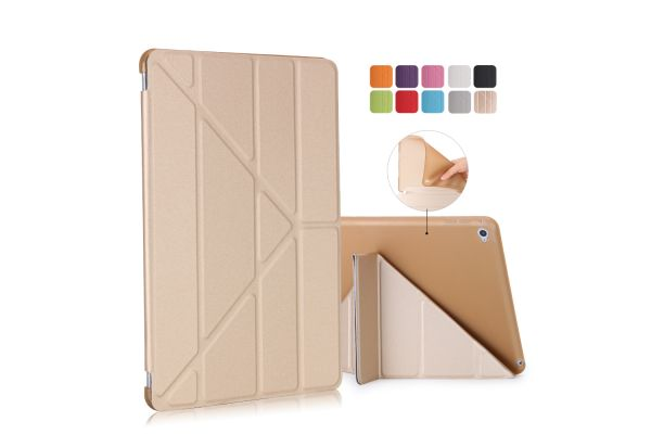 iPad Air 2 Book Cover Origami Goud