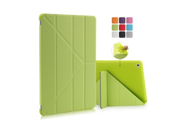 iPad Air 2 Book Cover Origami Groen