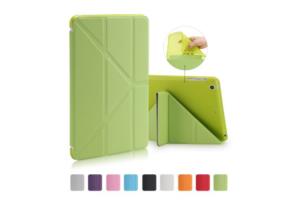 Book Cover Origami iPad Mini 1-2-3 groen
