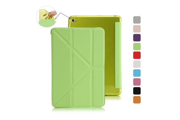 Book Cover Origami iPad Mini 4 Groen
