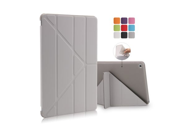 iPad Air 2 Book Cover Origami Grijs