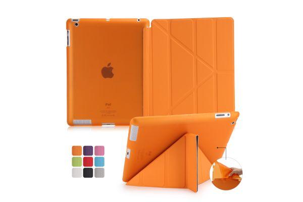 iPad 2-3-4 Book Cover Origami Oranje