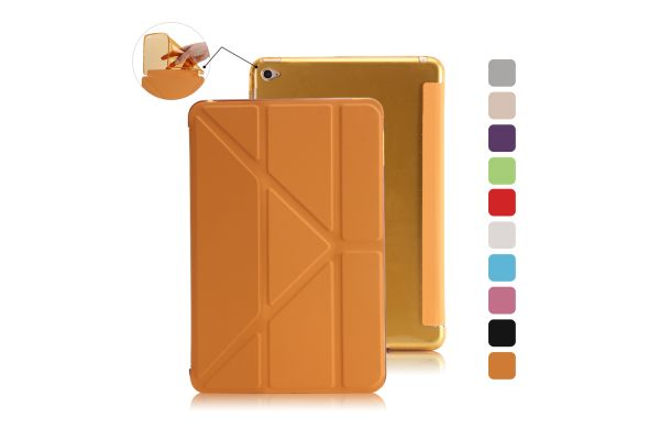 Book Cover Origami iPad Mini 4 oranje