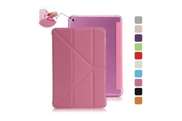 Book Cover Origami iPad Mini 4 roze