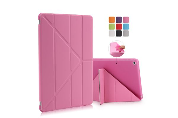 Book Cover Origami iPad Air 2 roze