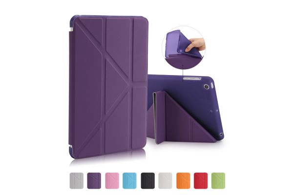 Flipstand Cover iPad Mini 1-2-3 paars