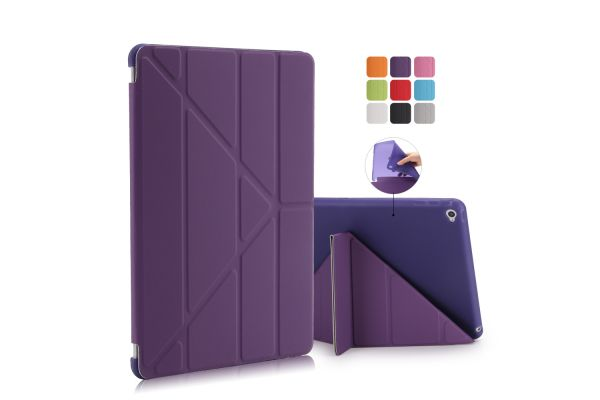 iPad Air 2 Book Cover Origami Paars