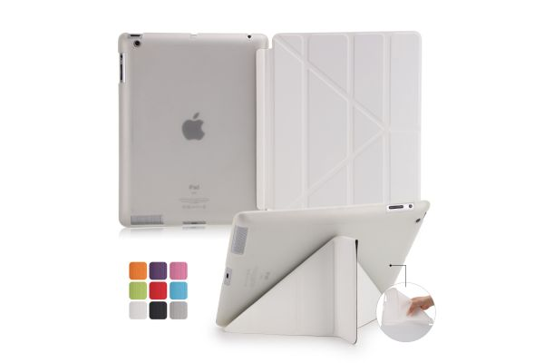 iPad 2-3-4 Book Cover Origami Wit