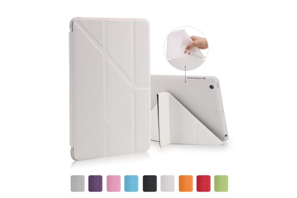 Flipstand Cover iPad Mini 1-2-3 wit