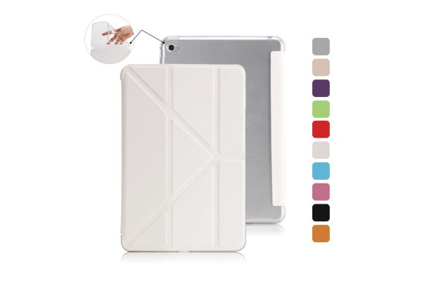 Book Cover Origami iPad Mini 4 Wit