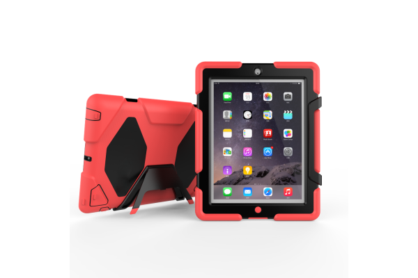 iPad 2-3-4 Bumper case rood