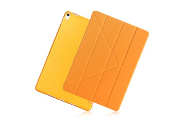 iPad Air 10.5 model 2019 Book Cover Origami Oranje