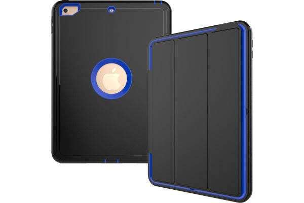 iPad 9.7 (2017) heavy duty survivor smartcase blauw